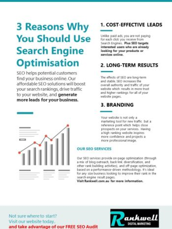 3 Reasons Why You Should Use Search Engine Optimisation